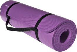 Thick Exercise Mat with Carrying Strap